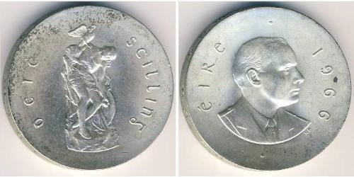10 Shilling Ireland (1922 - ) Silver