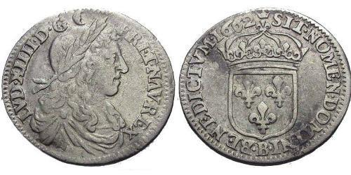 10 Sol Kingdom of France (843-1791) Silver