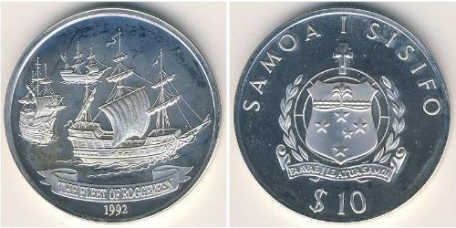 10 Tala Samoa Silver