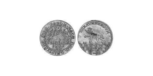 112 Thaler Anhalt-Bernburg (1603 - 1863) Billon