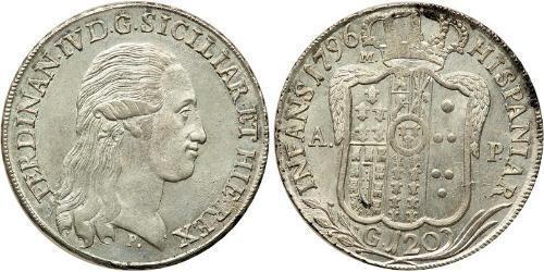 120 Grana Italien / Italian city-states Silber