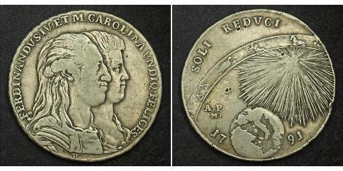120 Grana / 1 Piastre Italian city-states Silver