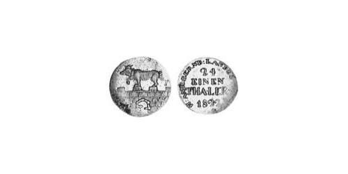 124 Thaler Anhalt-Bernburg (1603 - 1863) Silver