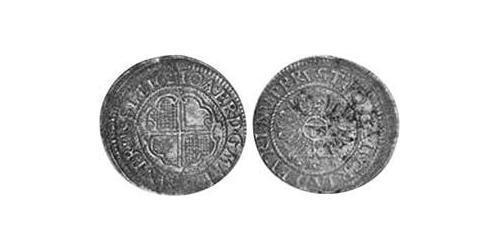 12 Kreuzer Principality of Ansbach (1398–1792) Silver Joachim Ernst, Margrave of Brandenburg-Ansbach (1583 – 1625)