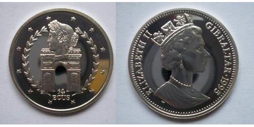 14 Экю  Серебро Елизавета II (1926-)