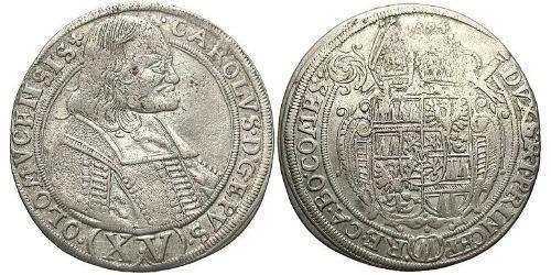 15 Kreuzer Austria  Silver