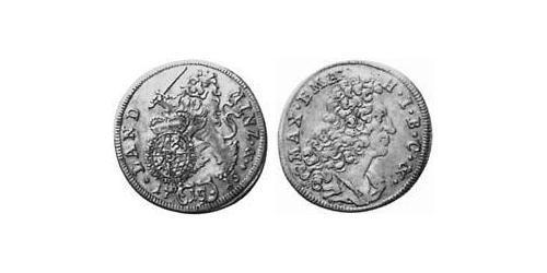 15 Kreuzer Electorate of Bavaria (1623 - 1806) Silver