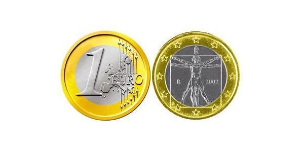 1 Євро Італія Біметал
