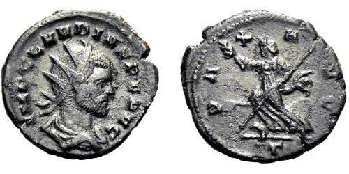 1 Антониниан Римская империя (27BC-395) Серебро Клавдий II  (213-270)