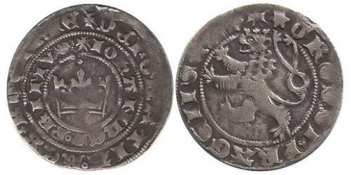 1 Грош Богемия Серебро