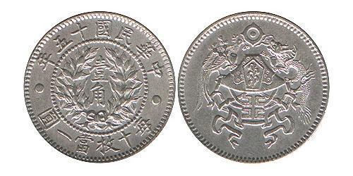 1 Джао Китайская Народная Республика Серебро