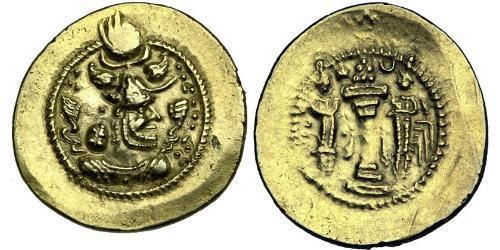1 Динар Иран / Империя Сасанидов  (224-651) Золото Пероз (? - 484)