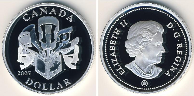 A canadian 2 dollar coins featuring a polar bear