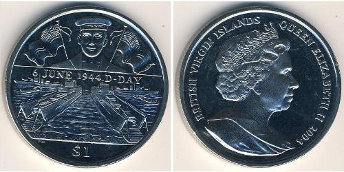 1 Доллар Виргинские о-ва Никель/Медь