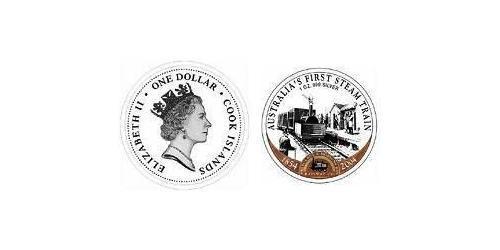 1 Доллар Острова Кука Серебро