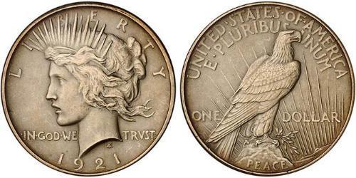 1 Доллар США (1776 - ) Серебро/Медь