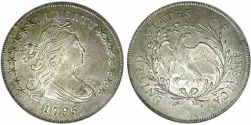 1 Доллар США (1776 - ) Серебро/Медь Anne Willing Bingham (1764-1801)