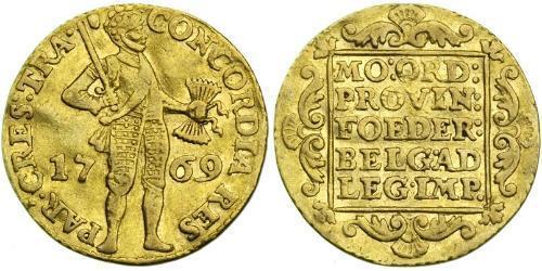 1 Дукат Республика Соединённых провинций (1581 - 1795) Золото