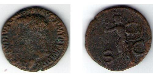 1 Дупондий Римская империя (27BC-395)  Тиберий Клавдий Нерон (42 BC-37)