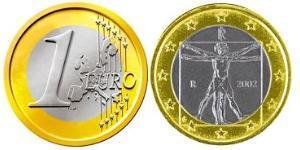 1 Евро Италия Биметалл