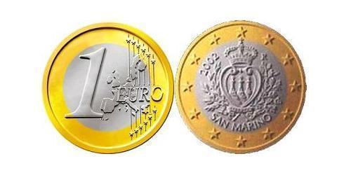 1 Евро Сан-Марино Биметалл
