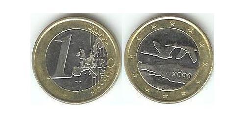1 Евро Финляндия (1917 - ) Биметалл