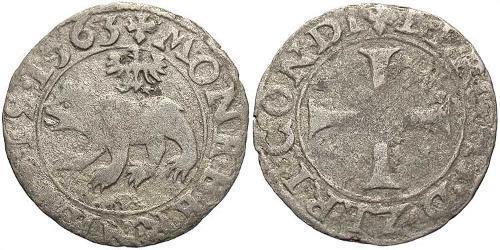 1 Крейцер Швейцария Серебро (билон)