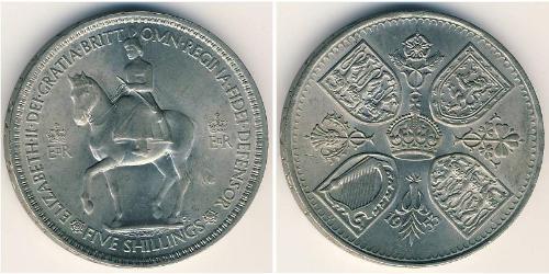 1 Крона Великобритания  Никель/Медь