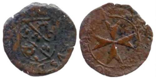 1 Лира Мальтийский орден (1080 - ) Медь