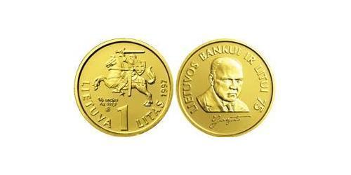 1 Лит Литва (1991 - ) Золото