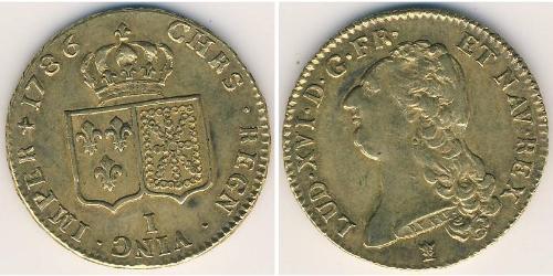 1 Луидор Королевство Франция (843-1791) Золото