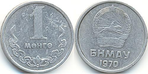 1 Мунгу Монголия Алюминий