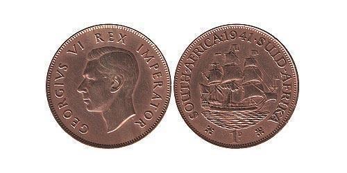 1 Пенни Южно-Африканская Республика Бронза