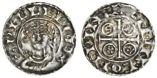 1 Пенни Королевство Англия (927-1649,1660-1707) Серебро Вильгельм I (1027 - 1087)