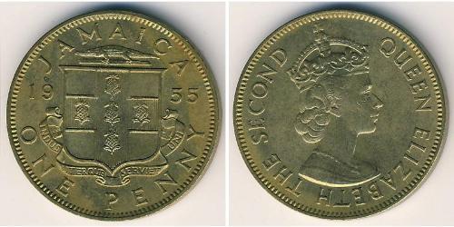 1 Пені Ямайка (1962 - ) Бронза