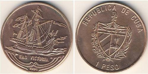 1 Песо Куба Никель/Сталь