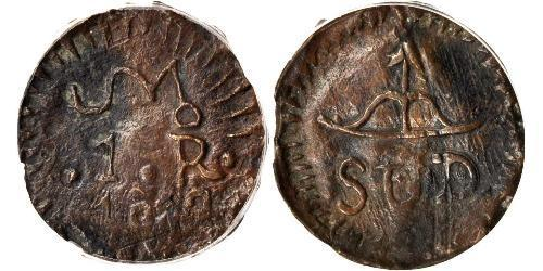 1 Реал Новая Испания (1519 - 1821) Серебро