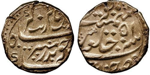 1 Рупия Британская Ост-Индская компания (1757-1858) / Индия Серебро