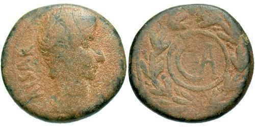 1 Семисис Римская империя (27BC-395) Бронза Октавиан Август (63BC- 14)