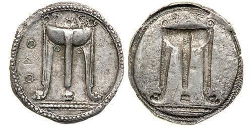 1 Статер Древняя Греция (1100BC-330) Серебро