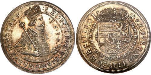 1 Талер Габсбурзька імперія (1526-1804) Срібло Leopold V, Archduke of Austria  (1586 – 1632)