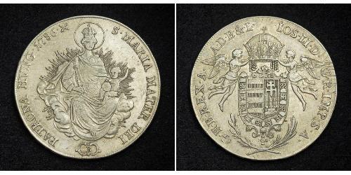 1 Талер Королiвство Угорщина (1000-1918) Срібло Joseph II, Holy Roman Emperor  (1741 - 1790)