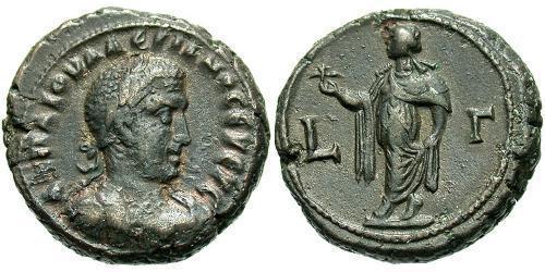 1 Тетрадрахма Римська імперія (27BC-395) Бронза Валеріан I (193-260)