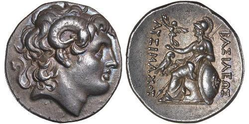 1 Тетрадрахма Стародавня Греція (1100BC-330) Срібло Александр Македонський (356BC-323BC)