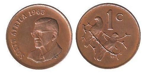 1 Цент Южно-Африканская Республика Бронза