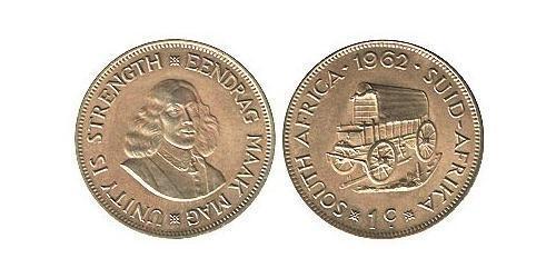 1 Цент Южно-Африканская Республика Латунь