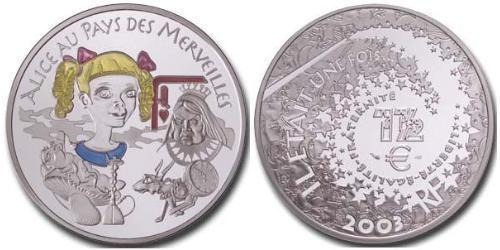 1 1/2 Евро Пятая французская республика (1958 - ) Серебро
