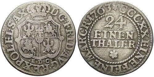 1/24 Thaler Germany Silver
