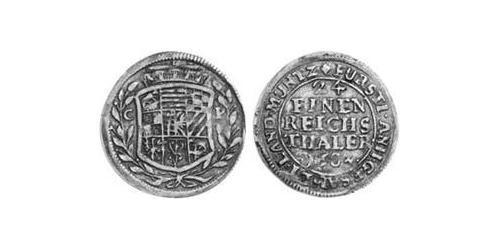 1/24 Thaler Principality of Anhalt (1212 - 1806) Silver