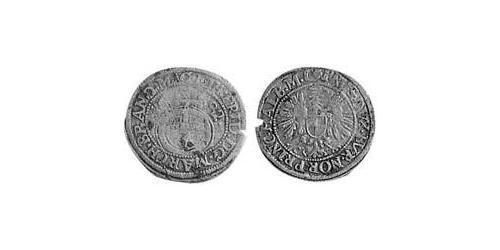 1/24 Thaler Principality of Ansbach (1398–1792) Silver John Frederick, Margrave of Brandenburg-Ansbach (1654 – 1686)